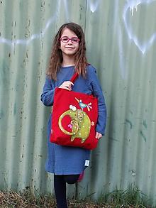 Detské tašky - malá taška so sloníkom - 11255196_
