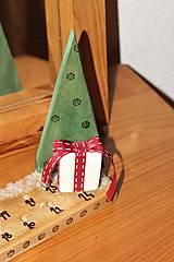 """Dekorácie - adventný kalendár """" darčekový"""" - 11257849_"""