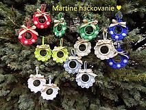 Dekorácie - vianočne venčeky ♥ - 11255639_