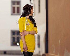 Šaty - Celoroční úpletové šaty  - 11256939_