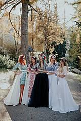 Šaty - krátke vyšívané šaty Slavianka - 11254879_