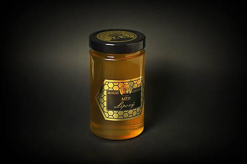 Lipový med - Gurmánska edícia