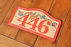 Tabuľky - Číslo domu z keramiky - 11255593_