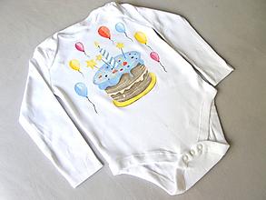 Detské oblečenie - Body prvý rôčik - 11255911_
