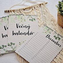 Papiernictvo - Vecny, alebo Narodeninovy kalendar RUSTIC - 11258218_