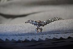 Náramky - Náramok sklenený s hviezdičkou - 11257759_
