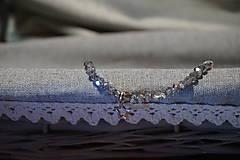 Náramky - Náramok sklenený s hviezdičkou - 11257761_