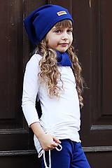 Šaty - dievčenské minišatové tričko LILI WHITE - 11258380_