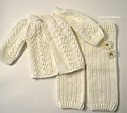 Detské oblečenie - súprava pre bábätko od 3mes. - 11258259_