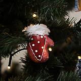"""Dekorácie - Vianočná dekorácia """"Rukavička"""" - 11257509_"""