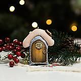 """Dekorácie - Vianočná dekorácia """"Domček"""" - 11257526_"""