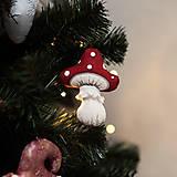 """Dekorácie - Vianočná dekorácia """"Muchotrávka"""" - 11257559_"""