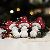 """Dekorácie - Vianočná dekorácia """"Muchotrávka"""" - 11257560_"""