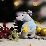 """Dekorácie - Vianočná dekorácia """"Potkaník"""" - 11257581_"""
