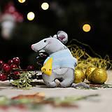 """Dekorácie - Vianočná dekorácia """"Potkaník"""" - 11257583_"""