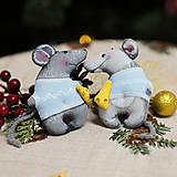 """Dekorácie - Vianočná dekorácia """"Potkaník"""" - 11257584_"""