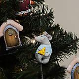 """Dekorácie - Vianočná dekorácia """"Potkaník"""" - 11257586_"""