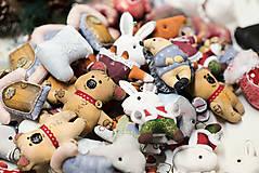 Dekorácie - Sada 6 vianočných dekorácií - 11257650_