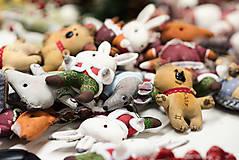 Dekorácie - Sada 6 vianočných dekorácií - 11257652_