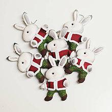 """Dekorácie - Vianočná dekorácia """"Zajačik"""" - 11257492_"""