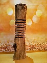 Svietidlá a sviečky - Relaxačná prírodná lampa na 230V - 11258489_