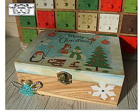 "Krabičky - Krabička ""Merry Christmas"" :) - 11255769_"