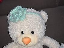 Detské doplnky - Čelenka pre male princezné na fotenie - 11258185_