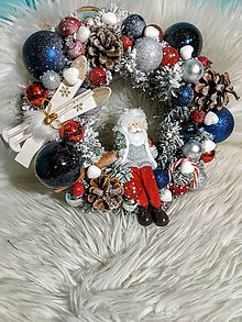 Drobnosti - Vianočný veniec - 11257951_