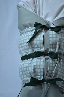 Textil - Páperová zavinovačka Zelená - 11258574_