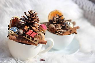 Iné doplnky - Vianočná prírodná dekorácia - 11258620_