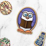 Dekorácie - Tučniačik - ozdoba na koláčik - 11256010_