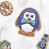 Dekorácie - Tučniačik - ozdoba na koláčik - 11256020_