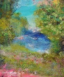 """Obrazy - Arttexový obraz """"Pri jazere"""" - 11258964_"""