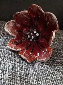 Dekorácie - Keramické vlčie maky - 11260366_