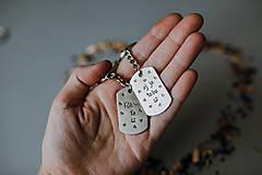 Kľúčenky - Ľúbim ťa-aj ja teba - 11259573_