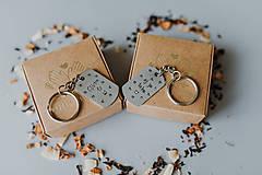 Kľúčenky - Ľúbim ťa-aj ja teba - 11259577_