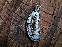 Náhrdelníky - orlie pierko II - 11258706_
