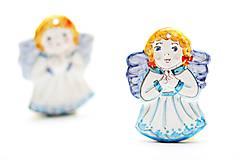 Dekorácie - Vianočný anjelik - 11258795_