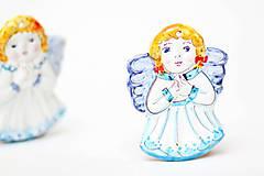Dekorácie - Vianočný anjelik - 11258796_