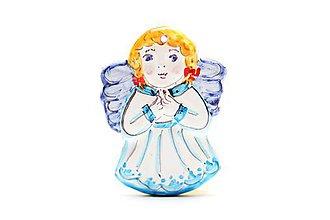Dekorácie - Vianočný anjelik - 11258794_