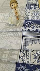 Úžitkový textil - Vianočný stredový obrus - 11262848_