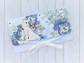 Papiernictvo - Svadobná obálka na peniaze - 11259735_
