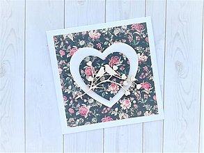 Papiernictvo - Svadobná pohľadnica - 11259970_