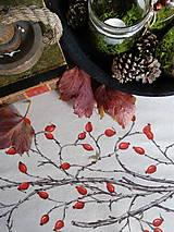 Úžitkový textil - Štóla šípky - ručne maľovaná - 11259109_
