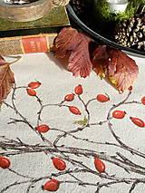 Úžitkový textil - Štóla šípky - ručne maľovaná - 11259110_