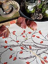 Úžitkový textil - Štóla šípky - ručne maľovaná - 11259118_