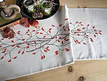 Úžitkový textil - Štóla šípky - ručne maľovaná - 11259123_
