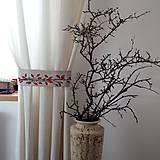 Úžitkový textil - Úchyt na záves - šípky - 11259147_