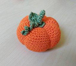 Hračky - Tekvica oranžová L - 11261091_