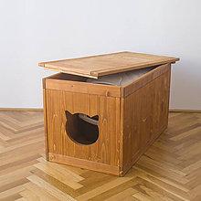 Pre zvieratká - Skrinka na mačaciu toaletu - 11259999_